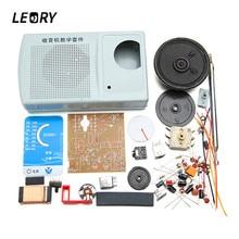 LEORY AM FM Radio Kit DIY ZX2051 Type IC Electroinc Learning Kit Suite 8 ohm