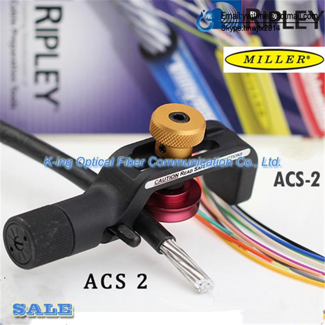 Frete Grátis Original marca Miller ACS2 ACS-2 Blindado Cabo De Fibra Óptica Talhadeira 4mm-10 MM