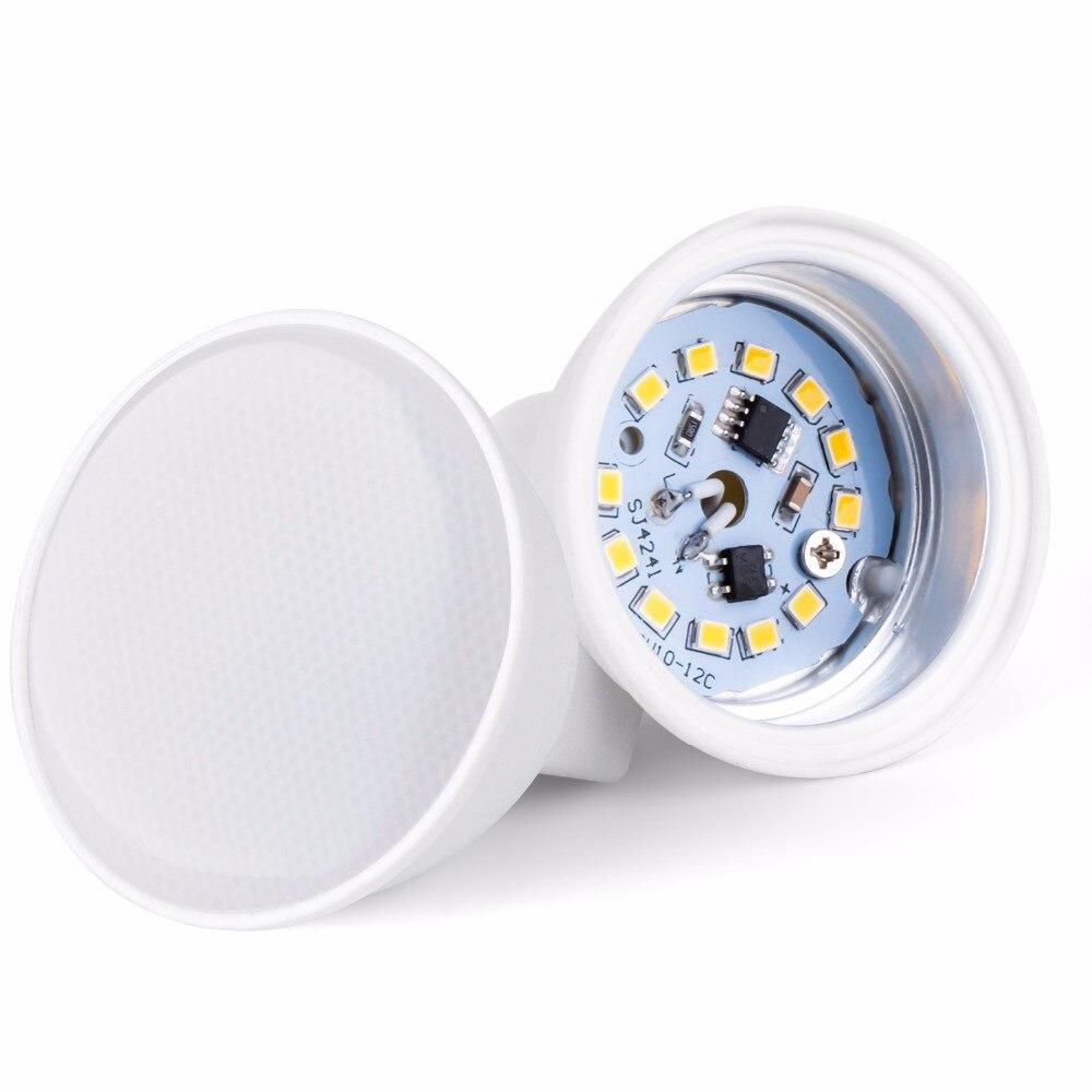 GU10 LED Bulb MR16 Spot light Bulb 5W Led Corn Light 7W Spotlight GU5 3 Bombillas Led Light 220V 2835SMD Ampoule Table Lamp 240V in LED Bulbs Tubes from Lights Lighting