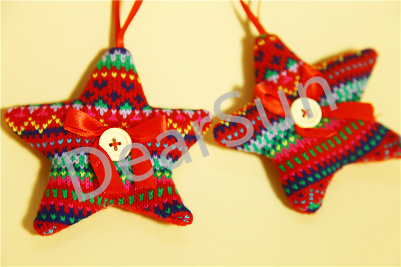6 Pcs Lot Christmas Indoor Decoration Christmas Tree Ornament