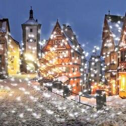 Рождественский светодиодный проектор огни снегопад эффект освещения украшения Xmas Декор света белый Снежинка порывы вращающийся прожектор
