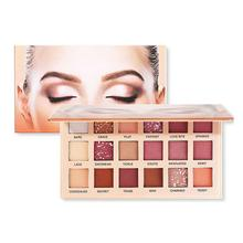 Eyeshadow Palette Beauty Glazed New Nude 18 Colors Matte Shimmer Glitter Eye Shadow Powder Waterproof Eye Shadow Palette beauty glazed makeup palette glitter eyeshadow palette eye shadow shimmer pigment loose powder beauty nude maquiagem 10 colors