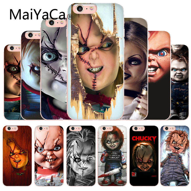 MaiYaCa Chucky Doll Horror Movie Classic High-end Phone Accessories Case For Apple iphone XS XR XSMAX And 6s 7 8 Phone case