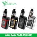 Original novo alienígena al85 kit com tfv8 smok smok tanque do bebê 3 ml 85 W Vape CAIXA MOD Cigarro Eletrônico Kit Vaping Al85 AL85