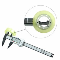 0 150mm 6 Inch LCD Electronic Digital Vernier Caliper Rule Micrometer Gauge Measuring Instrument Worldwide