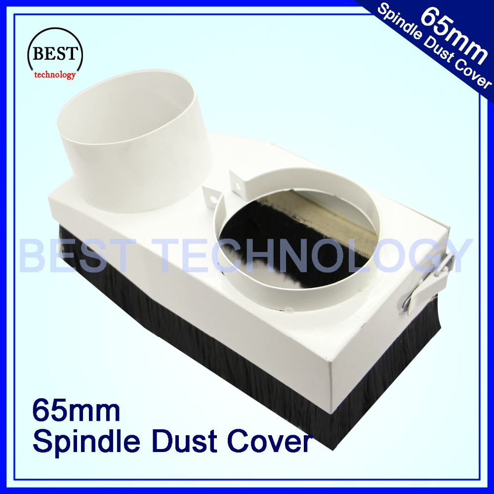 85mm Spindle Dust Cover Vacuum Cleaner Woodworking spindle cover for CNC Router Engraving Milling Machine