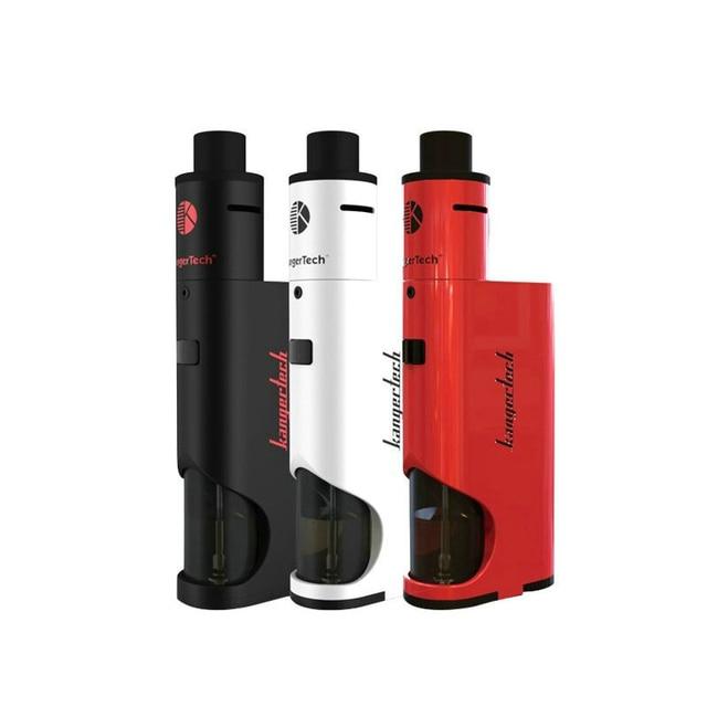 Kangertech Dripbox 60 W Starter Kit cigarro e 7 ML Tanque Vaporizador Com 0.2ohm Subdrip Gotejamento Bobina Vs Subox Topbox Mini Kit