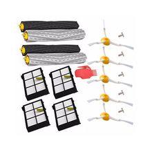 цена на -Debris Extractor brush + HEPA Filter + Side Brush Kit For iRobot Roomba 800 805 860 870 880 980 Vacuum Cleaner Accessories P