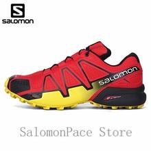 Originale Salomon Scarpe Da uomo Velocità Croce 4 Sport All aria Aperta  Cross-country Shos Uomini A Piedi Speedcross Sport Red D.. 6e68dcf6b9d