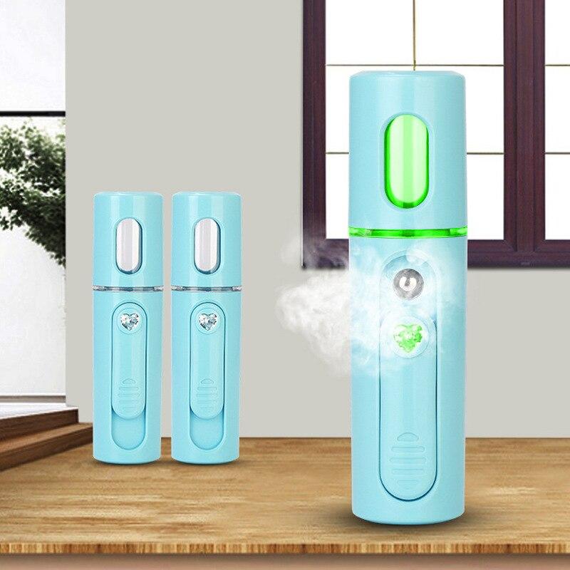 Нано-отпариватель для лица, портативный распылитель для лица, спа-распылитель, подача воды, мини-USB спрей для лица, инструмент для увлажнения...