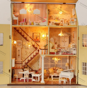 mini furniture. Birthday Gift Diy Handmade Mini Furniture Pocket-size Small House Hand-done Futhermore Doll