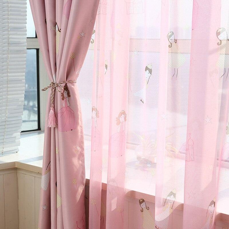 lindo de la historieta de encargo verde de tela sombra cortinas para ventanas de la sala comedor dormitorio sala de nios prince