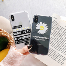 chrysanthemum Clear soft case for iphone X XS MAX XR 8 7 6 6s plus phone cover Transparent silicone Japan fashion fundas coque цена