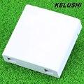 KELUSHI FTTH 10pcs/lots  Fiber Panel Fiber Optic Terminal Junction Box 86 Information Panels 86 Desktop Box Free Shipping