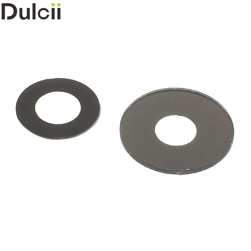 Dulcii Mobile Phone Parts for HTC One (M8) OEM Back Camera Lens Ring Replacement for HTC One M8