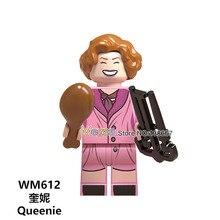 Legoings Figures Fantastic Beasts Rubeus Dobby Hagrid Seamus Finnigan Hermione Moody harri potter building Block friend Gift Toy(China)