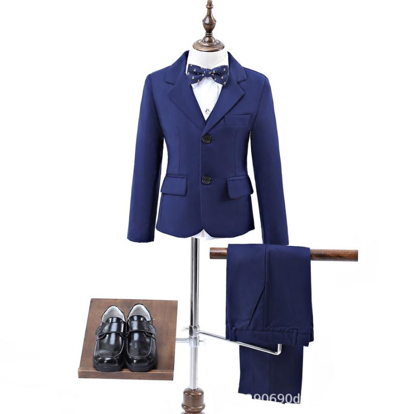 Baby Suit Formal Blazer Set Children Wedding Party Costume Host Piano Performance Costume Kids Clothes 5PCS Sets For Boys Y1060Baby Suit Formal Blazer Set Children Wedding Party Costume Host Piano Performance Costume Kids Clothes 5PCS Sets For Boys Y1060