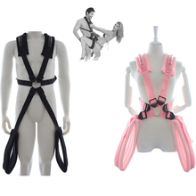 Sex Toys Adult Products Body Harness Swing Stand Leg Lift Bondage Open Spreader Restraint For Women Men Enjoys More Fun