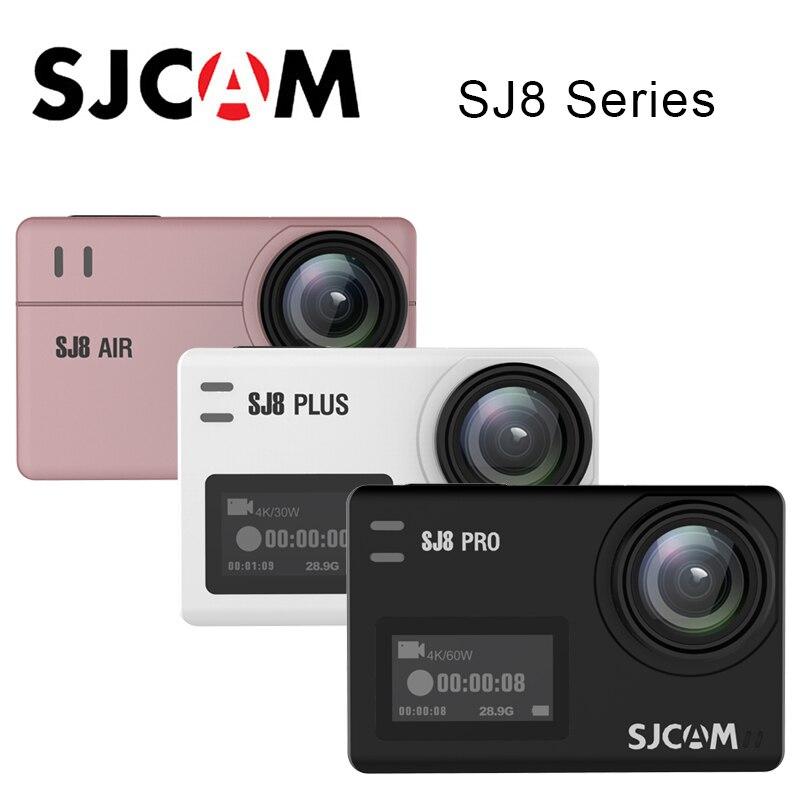 SJCAM SJ8 série de caméras d'action SJ8 Air & SJ8 Plus & SJ8 Pro 1290 P 4 K caméra WIFI télécommande étanche SJ cam sport DV