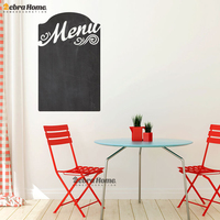 DIY Menu Chalkboard Art Chalkboard Planner Wall Decals Stickers For Living Rooms Murals Wall Papers Home Decor