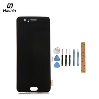 Hacrin For Oneplus 5 LCD Display Touch Screen With Tools Glass Panel Accessories Phone Replacement For