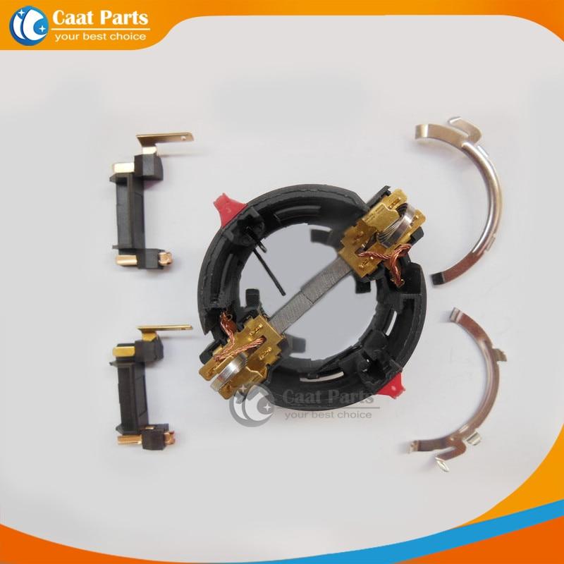 Reemplazo Un conjunto completo de conjunto de cepillo de soporte de escobillas de carbón para martillo perforador GBH2-26E / DE / RE / DRE / DSR de Bosch, GBH2-22RE