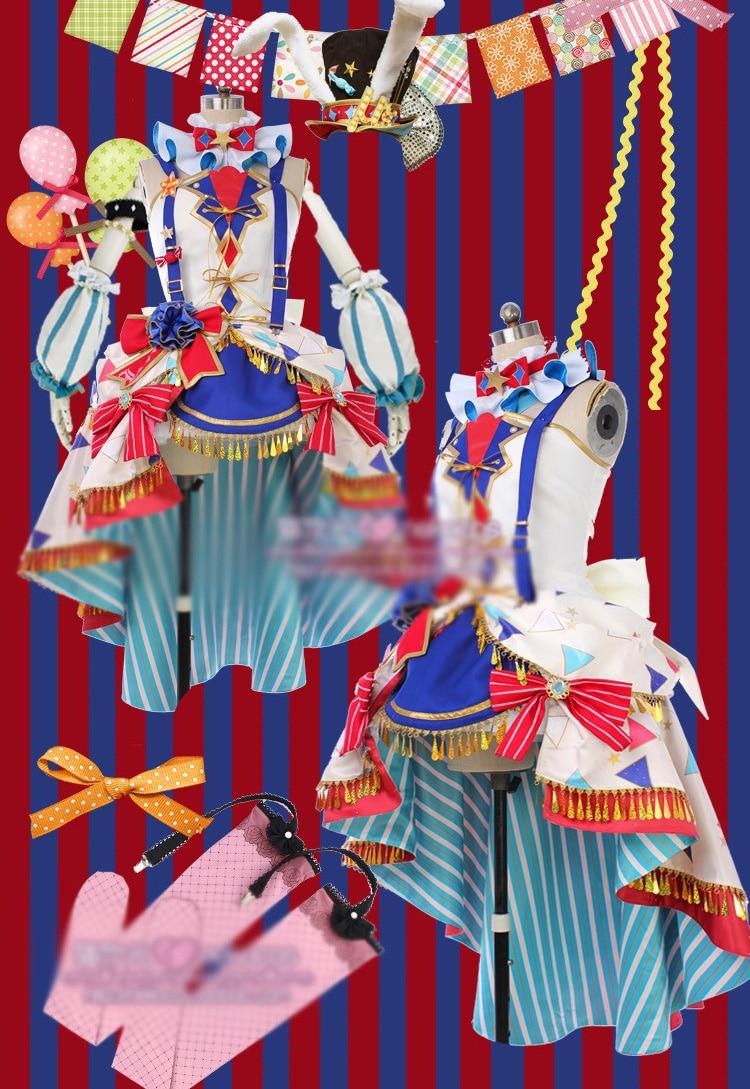 Szeress, élj! Awaken Circus Cosplay jelmez Minden tag Nishikino Maki - Jelmezek - Fénykép 1