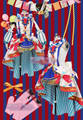 LoveLive! despertar circo cosplay todos los miembros nishikino maki tojo nozomi uniforme outfit dress + hat + tocado