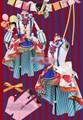 LoveLive! despertar circus cosplay todos os membros nishikino maki tojo nozomi uniforme outfit dress + hat + cocar