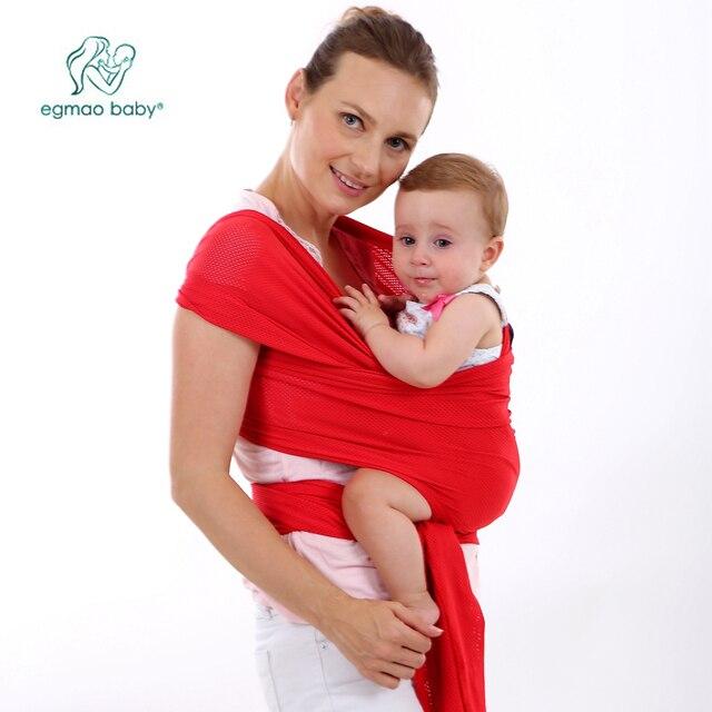 Sac à dos Pour Enfants Perforation Élingues Kangourou Portant Sling Pour  Les Nouveau-nés Porte aa84fd61038