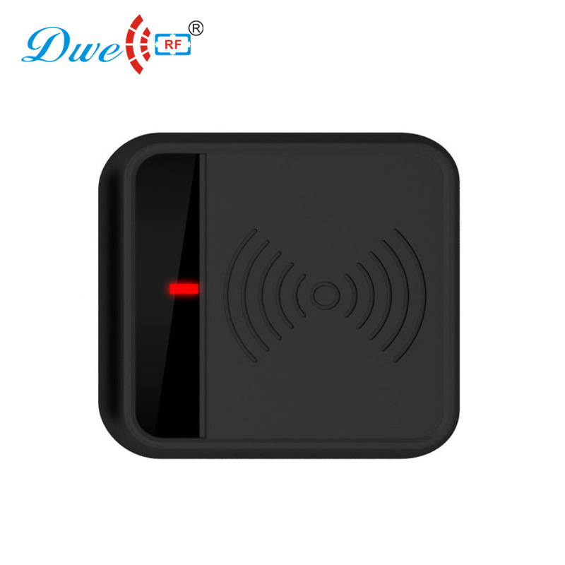 DWE CC RF Access Control Card Reader contactless card reader plastic rfid gate system dwe cc rf 2017 hot sell 13 56mhz 12v wg 26 rfid outdoor tag reader for security access control system