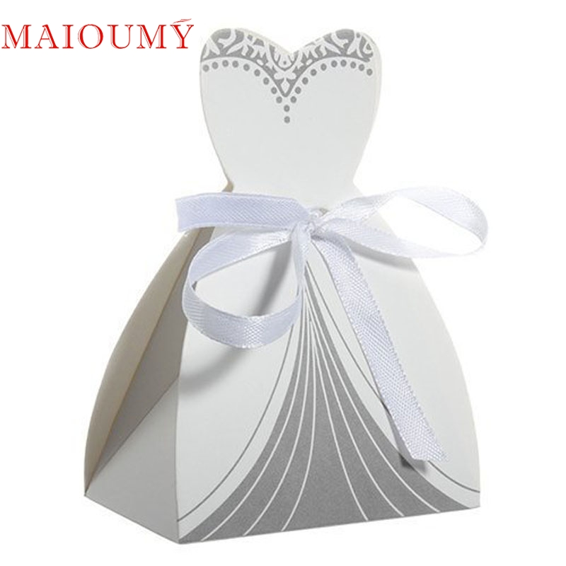 Wedding Dress Favor Boxes Wholesale Fashion Dresses