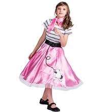 Poodle Skirt Girl Halloween Costumes For Kids