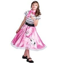 Poodle Váy Cô Gái Halloween Trang Phục Cho Trẻ Em