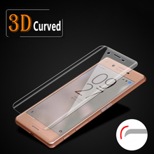 3D Full Screen Coverage Tempered Glass For Xperia X Performance For Sony Xperia XA Screen Protector Full Covered Protective Film