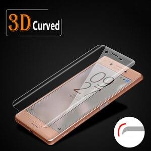 Image 1 - Proteção de tela em vidro temperado para xperia x, protetor de tela coberto total