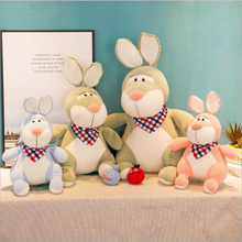 Cute Rabbit Short Plush Toys Stuffed Animal Soft Plush Doll Toy Kids Sleeping Doll Gift Children Birthday Gifts цена
