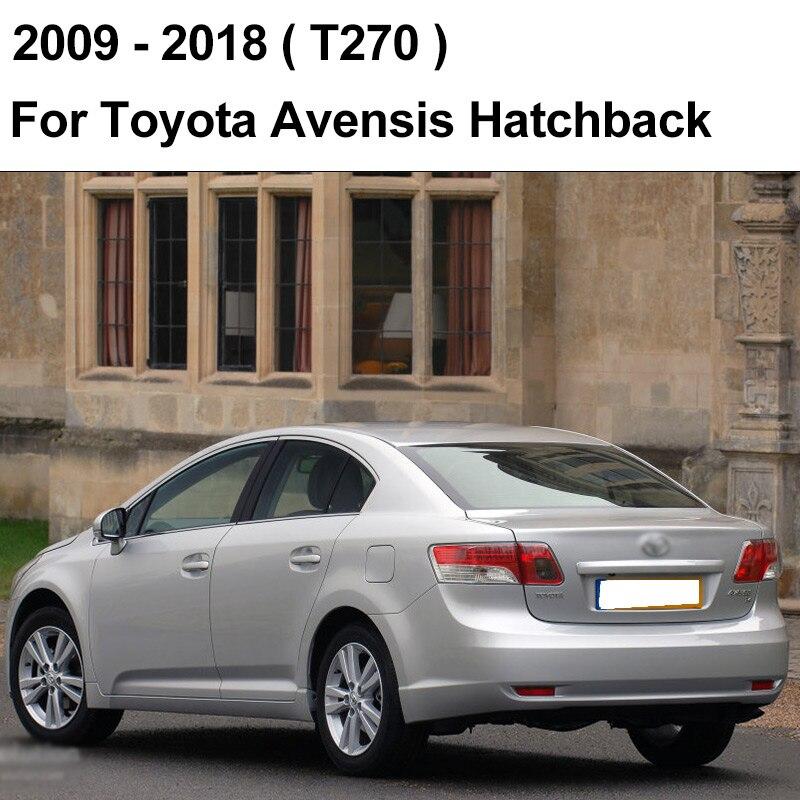 REFRESH Щетки стеклоочистителя для Toyota Avensis T250 / T270 / Verso Mk2 Mk3 Подходит для крепления крюка / кнопочных ручек Долговечная резина - Цвет: 2009 - 2018 (Hatch)
