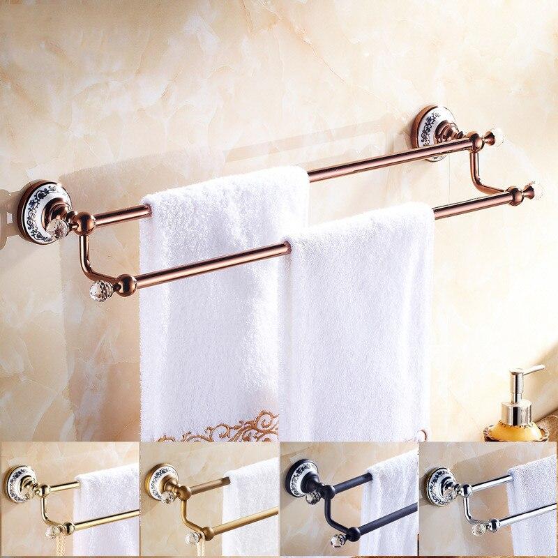 Crystal Bathroom Hardware: Vidric Towel Bars Wall Mounted Bathroom Accessories