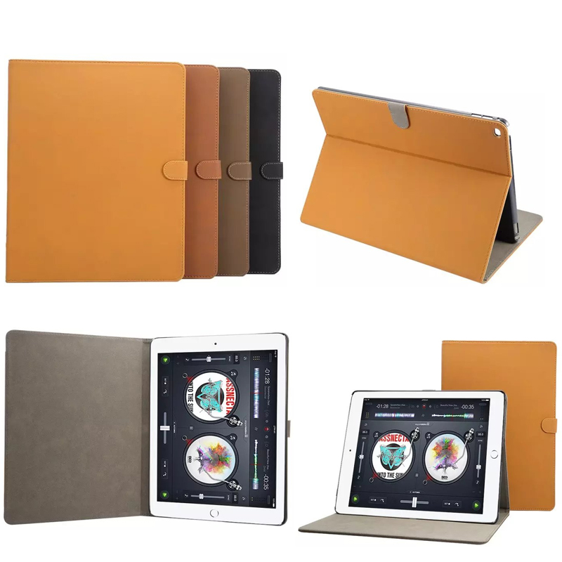 Case For Apple Ipad Pro 12.9 Cover Drop resistance Luxury High Quality PU Leather Folding Folio Cases For Apple Ipad Pro 12.9 wheat breeding for rust resistance