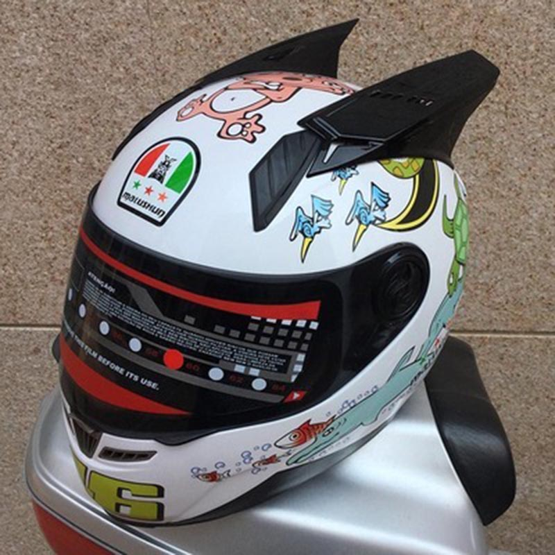 Free shipping motorcycle helmet fashion personality design Racing full face helmet men and women all size