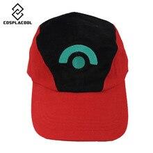 [COSPLACOOL] Pocket monster ash ketchum вентиляторы шляпа мультфильма немного мудрости шляпа бейсболки ПОКЕМОН аниме COS кто