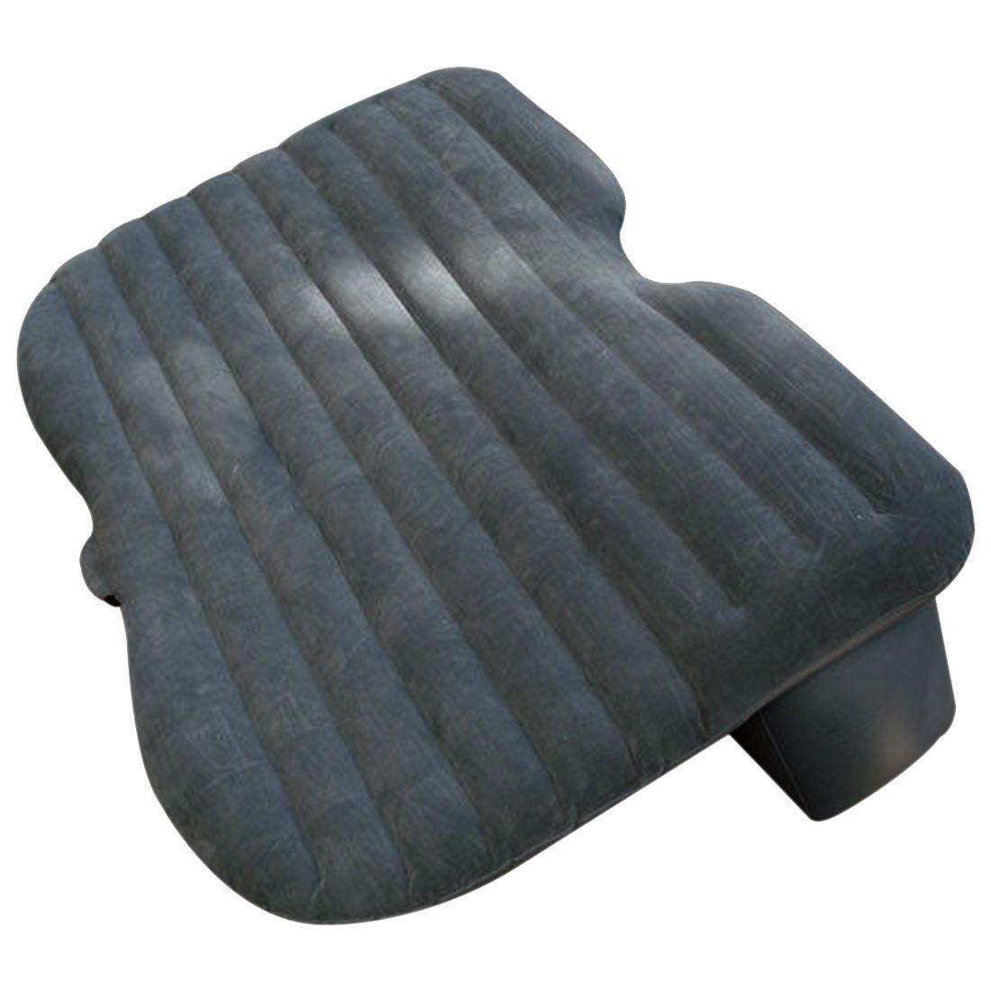 AUTO -Car Air Bed Comfortable Travel Inflatable Car Back Seat Cushion Air Mattress with Air Pump for Camping Trip durable thicken pvc car travel inflatable bed automotive air mattress camping mat with air pump