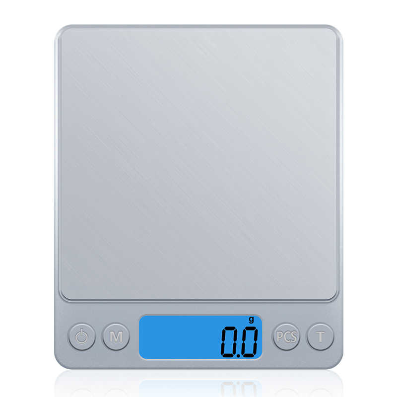 GASON échelle de cuisine numérique, Z1s, Mini-poche en acier inoxydable, bijoux de précision, poids électronique, grammes en or (3000g x 0.1g)