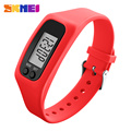 SKMEI 1207 Women Outdoor Sport Watch Pedometer Calorie Time Mileage Watches Fashion Strap Running Wristwatches Relogio Masculino
