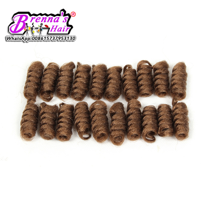 curlkalon crochet hair red (3)