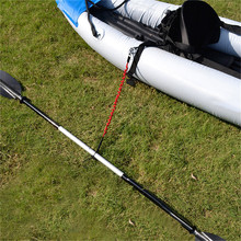 Elastic Kayak Canoe Paddle Leash Surfboard Surfing Leash Rope Safety Leash Rowing Boats Lanyard Fishing Rod