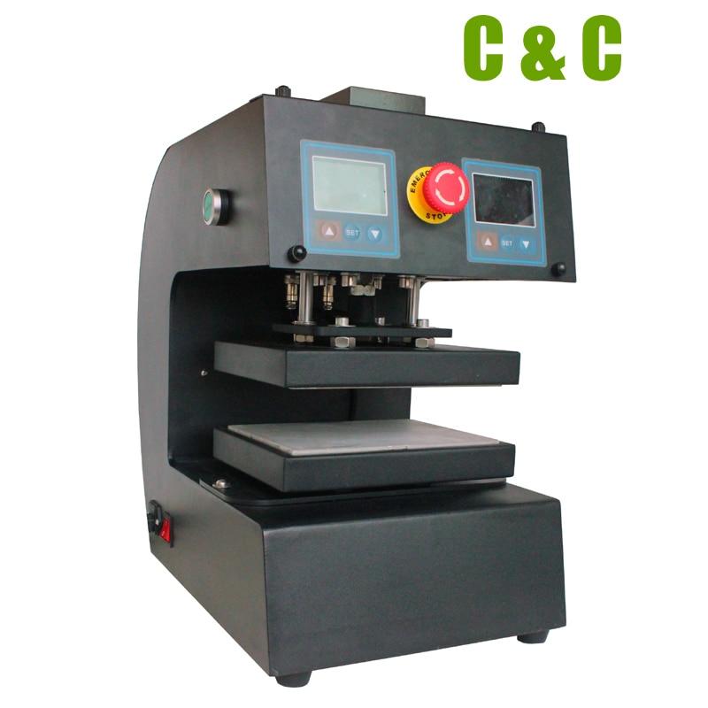10 15cm Rosin press dual heat plates Electric Automatic rosin machine 13000PSI NO CK10