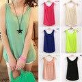 2014 Fashion mulheres de Verão Roupas Chiffon Mangas Causal Chiffon blusa Vestido de Verão 13 cores, frete Grátis DropshippingF3325