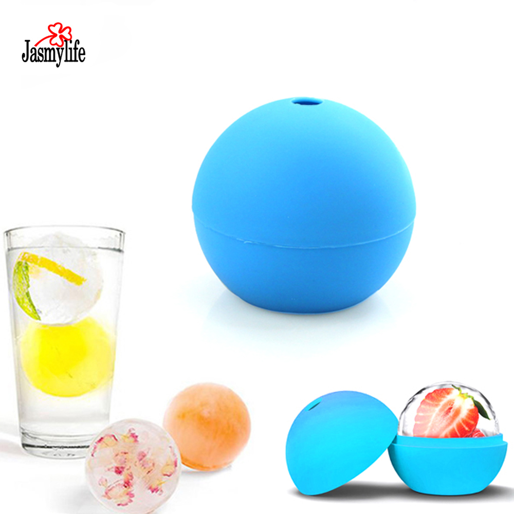 ice cream ball maker one large whisky silicone Ice Ball mold big sphere ice mould whiskey ice ball maker Kitchen Accessories